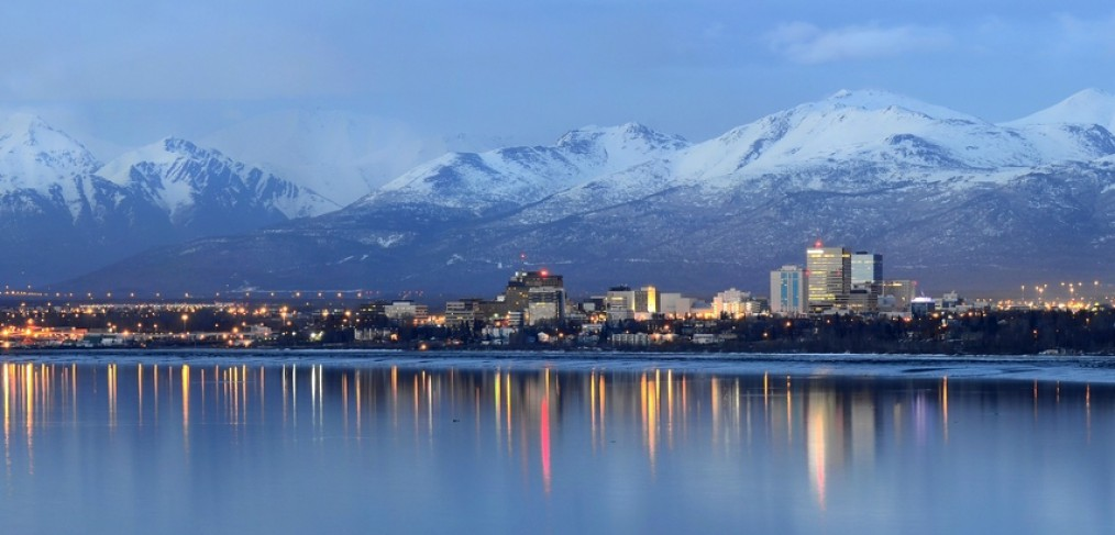 Photography of Anchorage Downtown