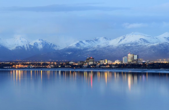 Photograph of Anchorage Alaska